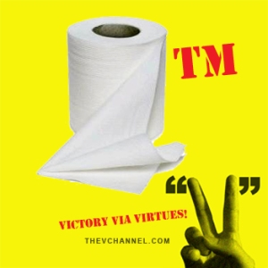 WHEN TOILET PAPER BECOMES A TEACHABLE MOMENT. | The V Channel