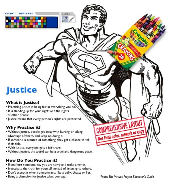 Color me cartoons_superman