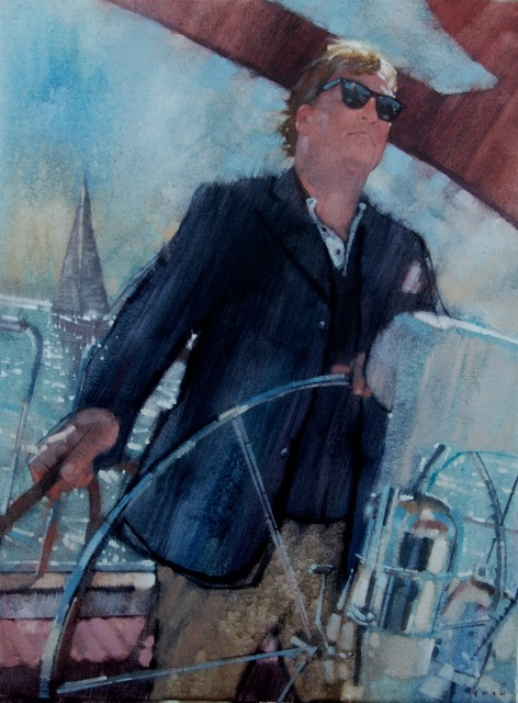 """Master and Commander"" by Greg Shed. 18""x24"" oil on canvas. 2010."