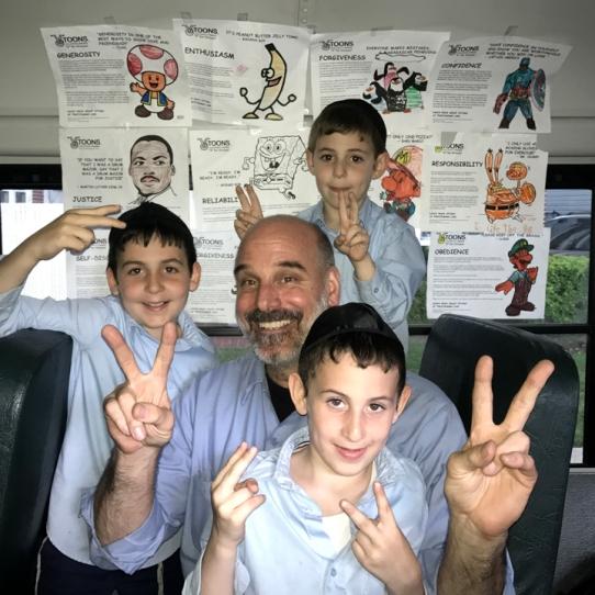 Guttman boys w-Mr Scott_lr